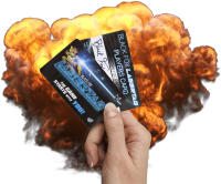 Lasertag Players Card